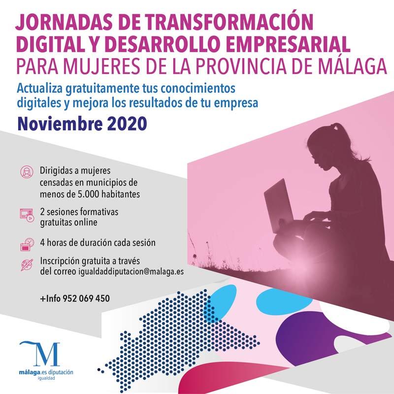jornadas-transformacion-digital-diputacion-malaga-desarrollo-empresarial-mujer-municipios