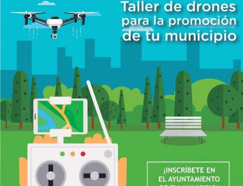 Vuelve el taller de dron a Yunquera