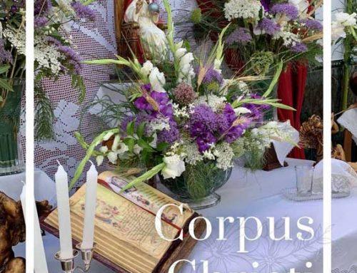 Corpus Christi Yunquera, presentación digital y programa de cultos.