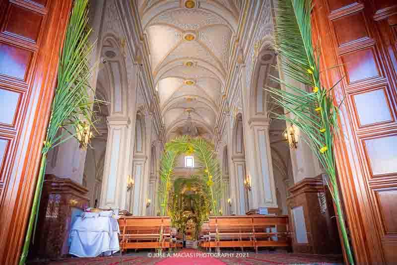 Corpus Christi Yunquera - Iglesia Nuestra Señora de la Encarnación vista panoramica