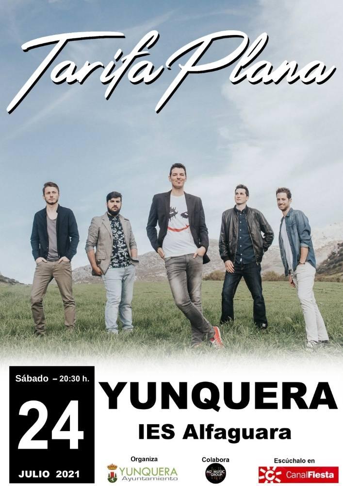 Tarifa Plana en concierto Yunquera