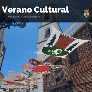 Trabajos de croche que adornas las calles y rincones del pueblo de Yunquera, disfruta de la exposición del 16 de julio