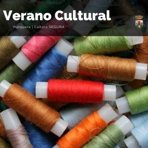 Hilo con el que realizan los bolillos en el taller de manualidades de Yunquera