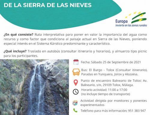 Conociendo las Cascadas de la Sierra de las Nieves