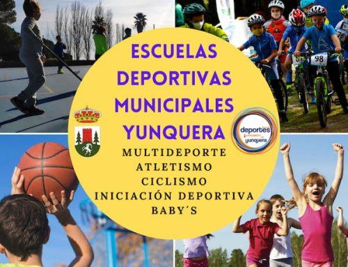 Escuelas Deportivas Municipales – Curso 2021-22